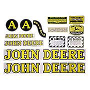 DEC239 - JD A Styled Hood 1947-52: Mylar Decal Set