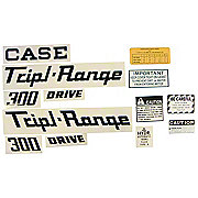 DEC307 - Case 300 Triple Range: Mylar Decal Set