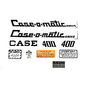 DEC308 - Case 400 Case-O-Matic: Mylar Decal Set