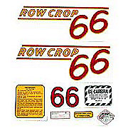 DEC320 - Oliver 66 Rowcrop: Mylar Decal Set