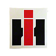 IH Decal  6-5/8 Wide x 7-1/8 Tall