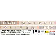DEC353 - Oliver 1850: Vinyl Cut Decal Set