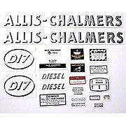 DEC357 - AC D17 Diesel: Mylar Decal Set