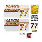 DEC368 - Oliver 77 Standard: Mylar Decal Set