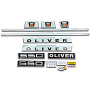 DEC402 - Oliver Late 550: Mylar Decal Set
