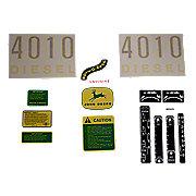 DEC411 - JD 4010 Diesel: Vinyl Cut Complete Set
