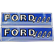 DEC430 - Ford 4000 Before 1965:  Mylar Decal Hood Set