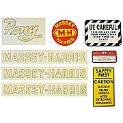 DEC431 - MH Pony: Vinyl Cut Decal Set
