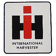 """DEC436 - IH Logo: Mylar Decal -- 2"""" X 2-1/4"""""""