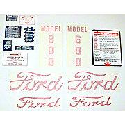 DEC443 - Ford 600 1955 - 1957: 14 Piece Mylar Decal Set