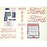 DEC444 - Ford 800 1955 - 1957: 14 Piece Mylar Decal Set