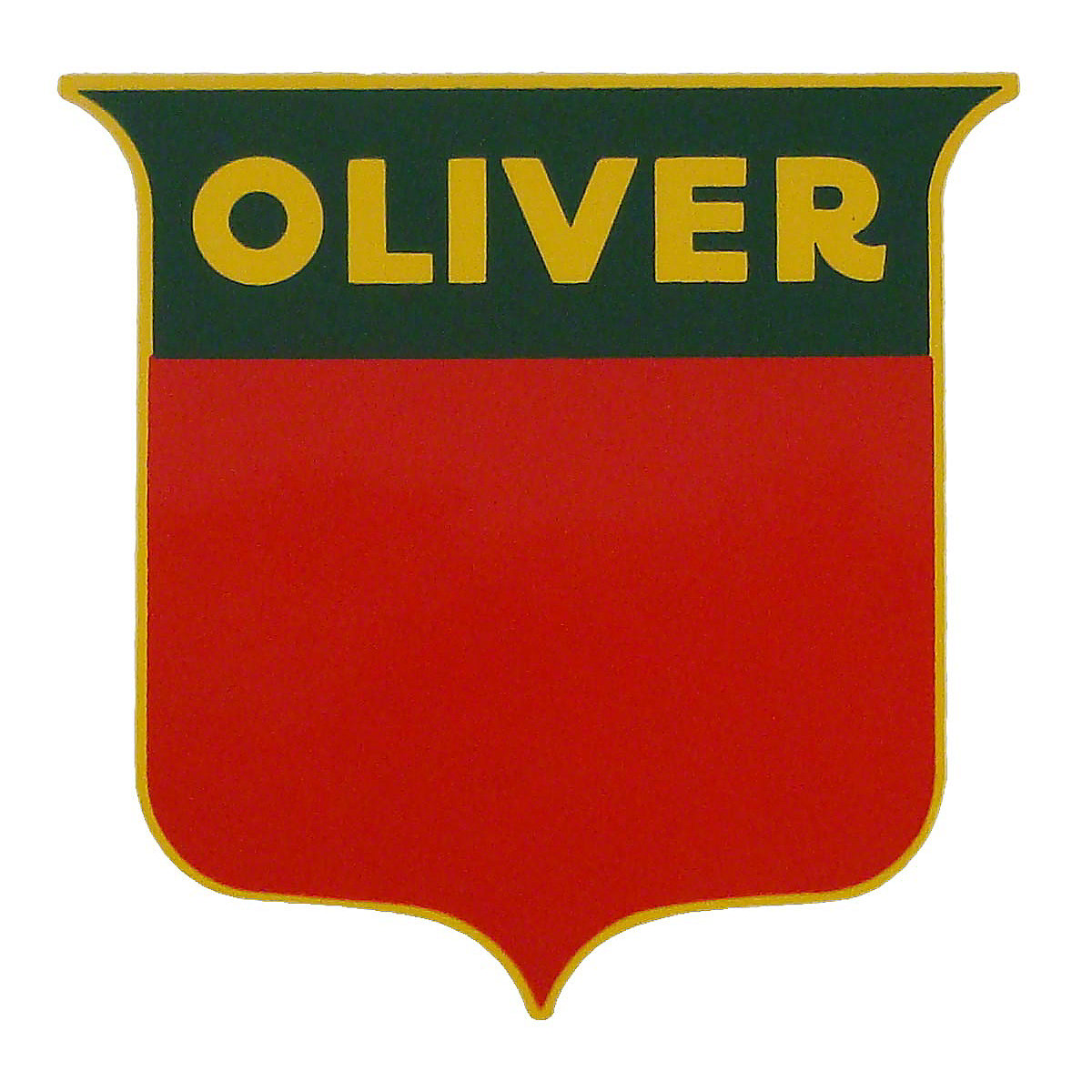Oliver Tractor Decals : Dec oliver shield decal