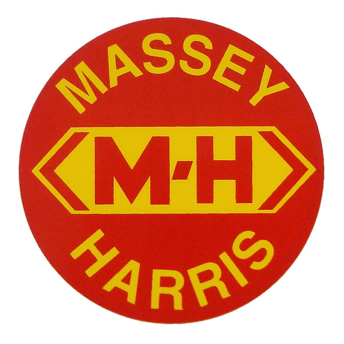 Ferguson Tractor Decals : Dec massey harris round decal