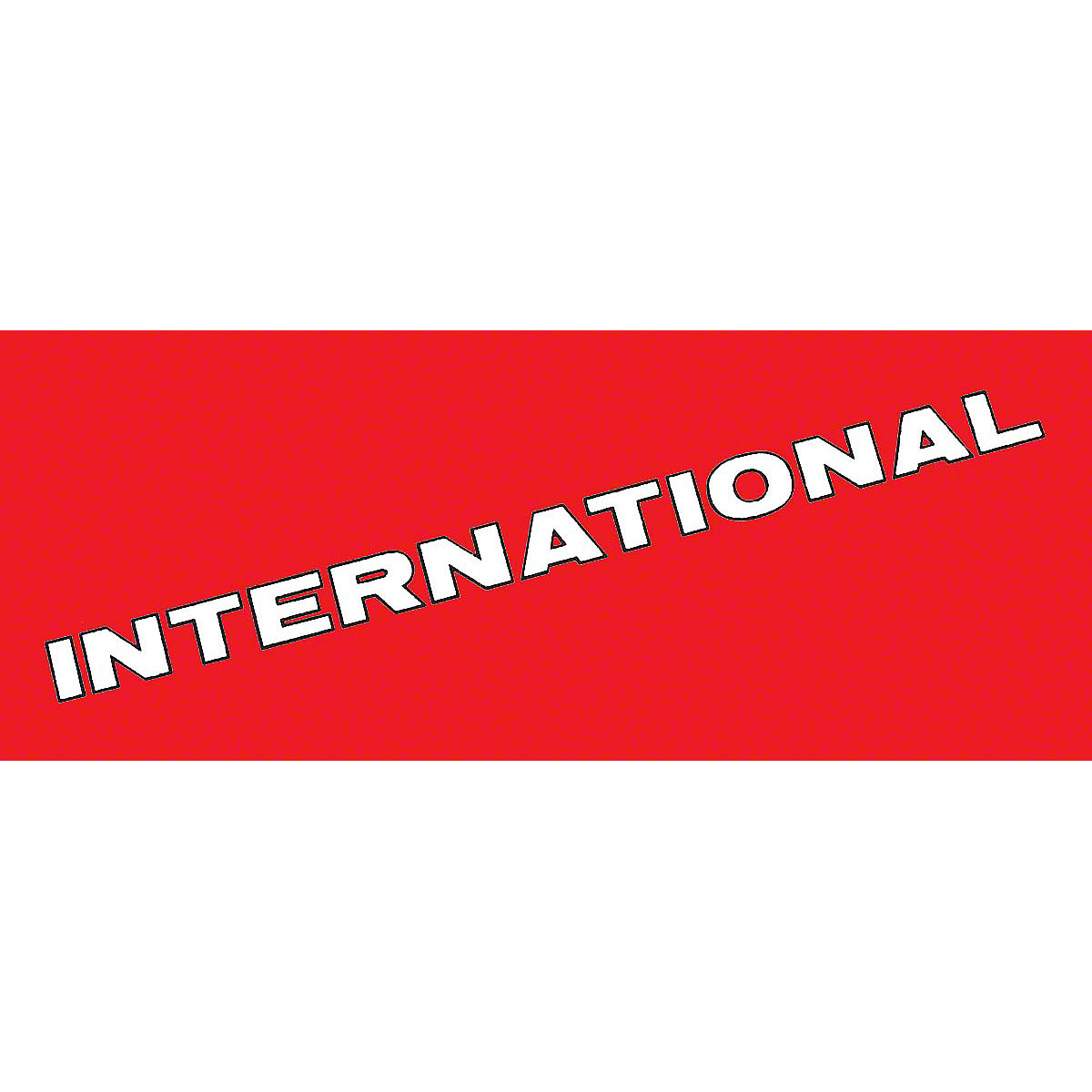 DEC461 International Decal Vinyl Cut