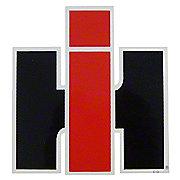 """DEC463 - IH Logo Decal - 4-1/2"""" Wide x 4-3/4"""" Tall"""