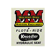 DEC466 - Knoedler Float Ride Seat Decal