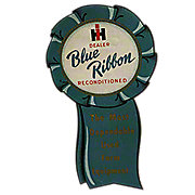 Blue Ribbon Reconditioned Decal