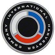 DEC522 - IH 140, 240, 340 + : Decal, Steering Wheel Cap Insert