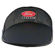 FDS1226 - Ford Tractor Seat Cushion - Black, Red, White