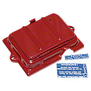 FDS168 - Battery Cover With Acccess Door And Battery Decal For Cover