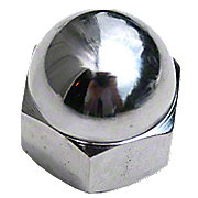 FDS197 - Chrome Steering Wheel Nut