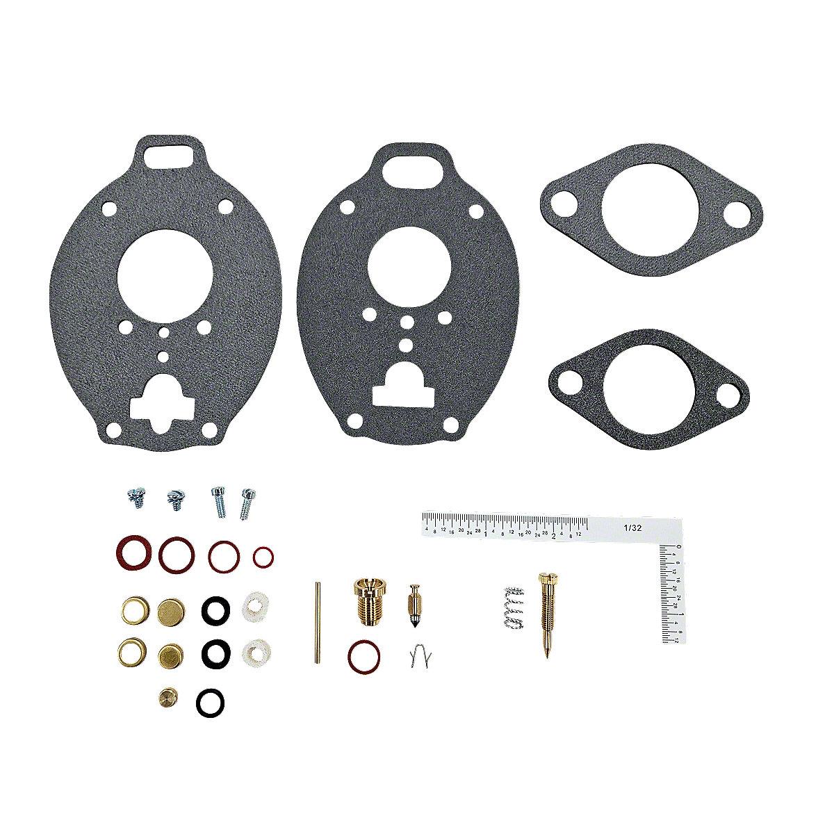 FDS212Economy Carburetor Repair Kit, Marvel Schebler