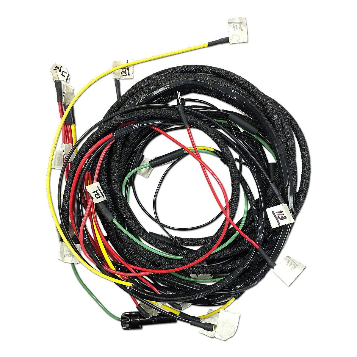 Restoration Quality Wiring Harness Fds3782 Alternator For Tractors Using 1 Wire
