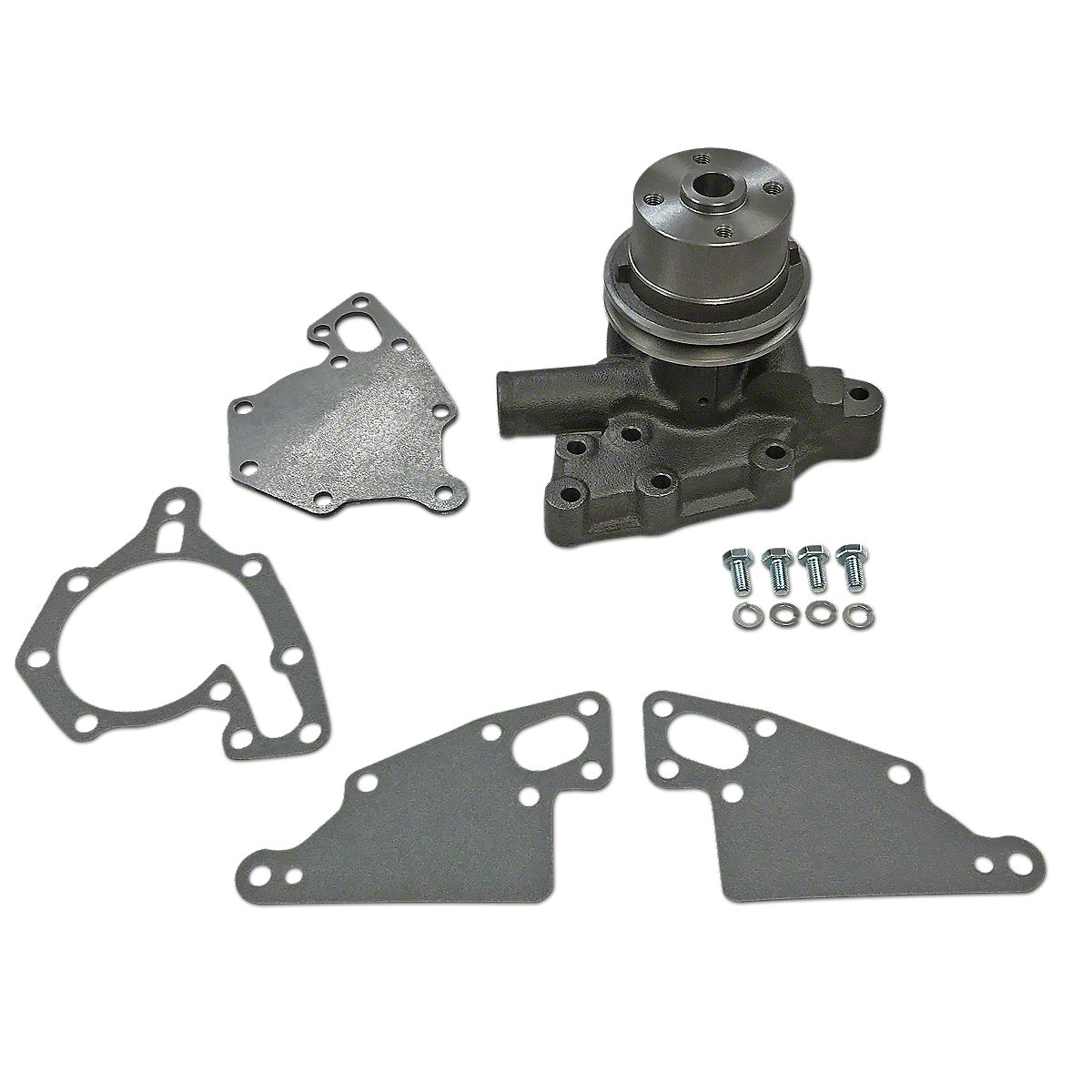 FDS3937 New Water Pump with Pulley
