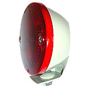 FDS448 - Restoration Quality Duolamp Tail Light Assembly With Bracket, 6Volt