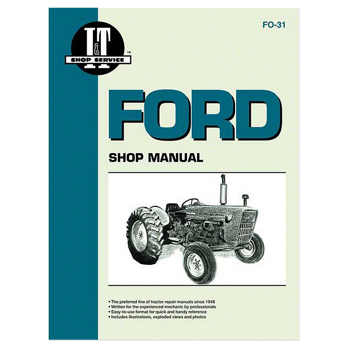 Dec451 8 Speed Trasmission Shift Patt Select O Ford 3000 Wiring Diagram I T Shop Service Manual