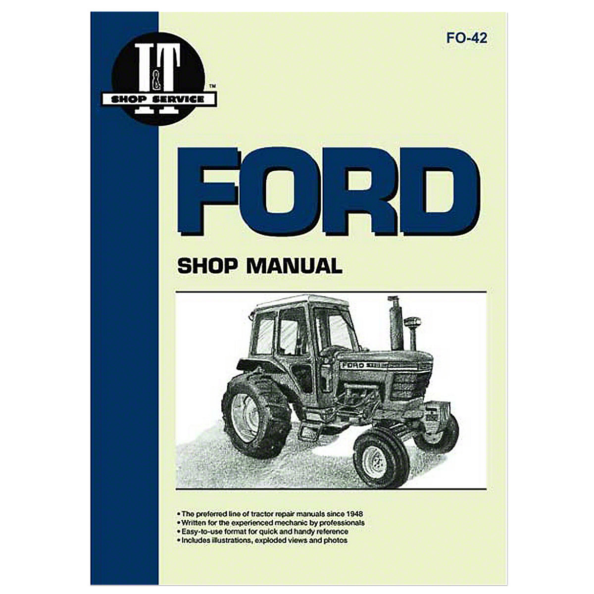 fo42 i t shop service manual rh steinertractor com Golden Jubilee Ford Tractor Parts 1955 Golden Jubilee Tractor and 9N