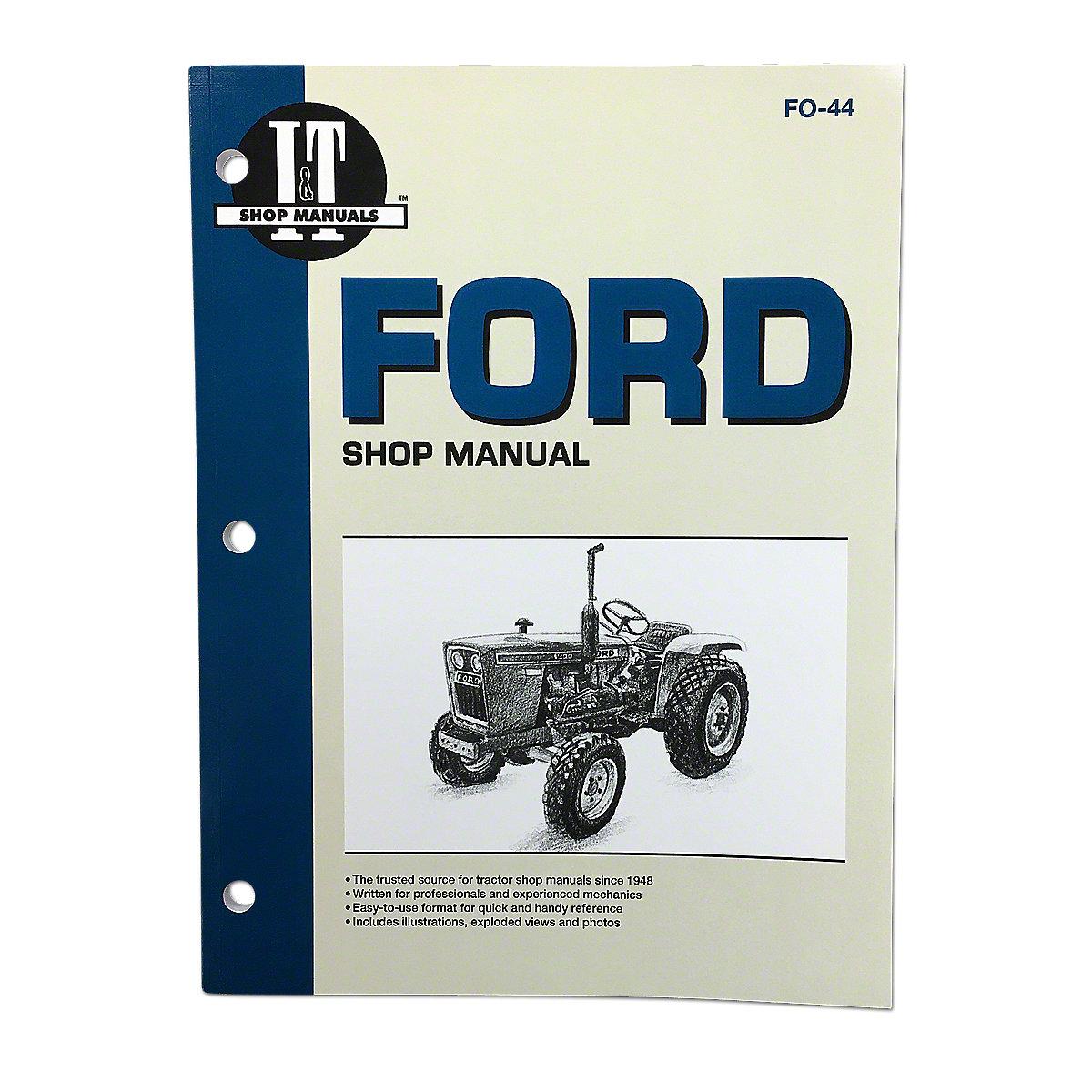 I  U0026 T Shop Service Manual Fo44