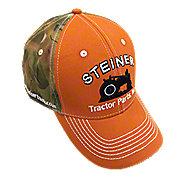 Orange Camo Hat