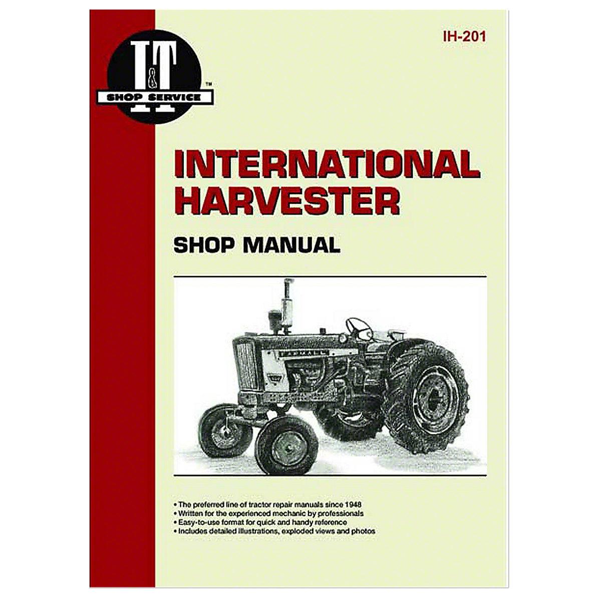 ih201 i t shop service manual rh steinertractor com International Harvester Tractor 2440 364 International Tractor Model