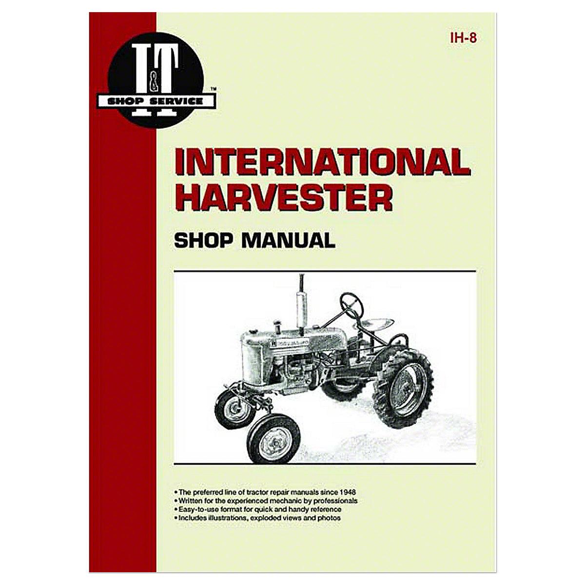 ih8 i t shop service manual rh steinertractor com International Harvester 354 Tractor 1972 354 International Tractor Parts