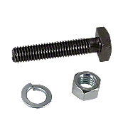 IHS1617 - Front Wheel Mounting Bolt, Nut, Lockwasher
