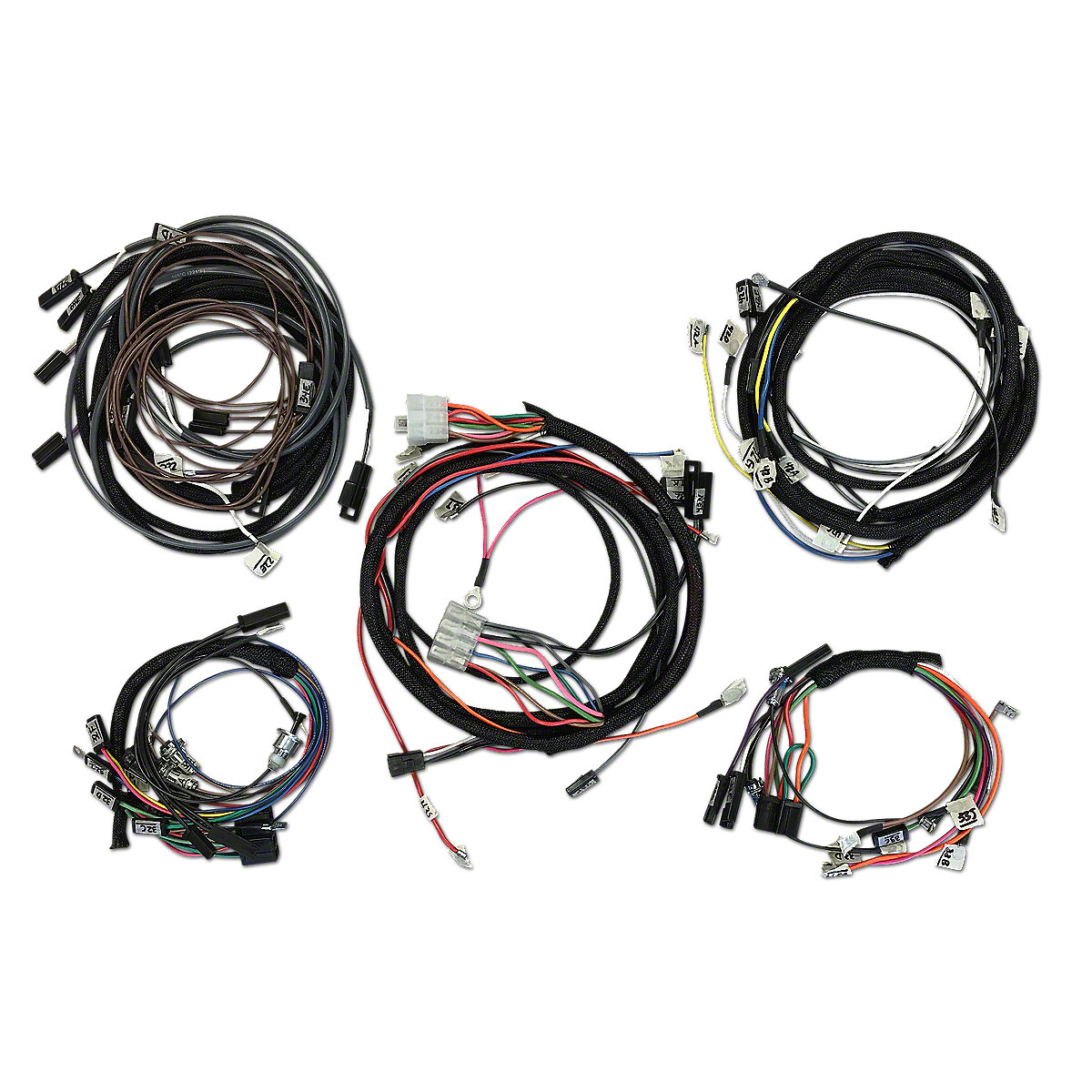 restoration quality wiring harness ihs3543
