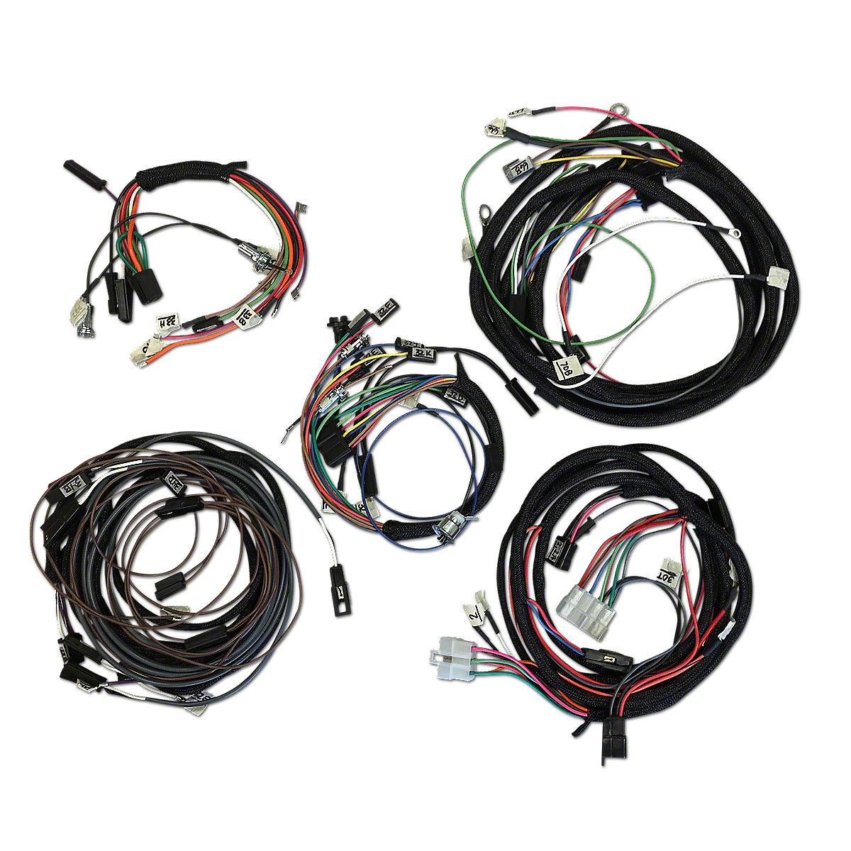 restoration quality wiring harness ihs3548