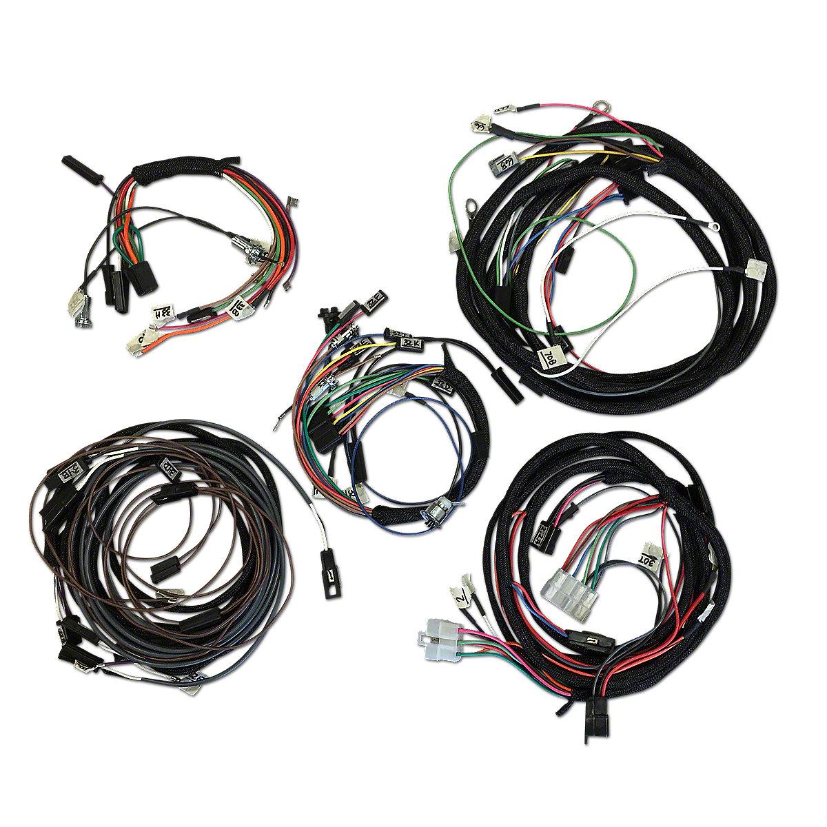 Restoration Quality Wiring Harness Ihs3543 Mf 240
