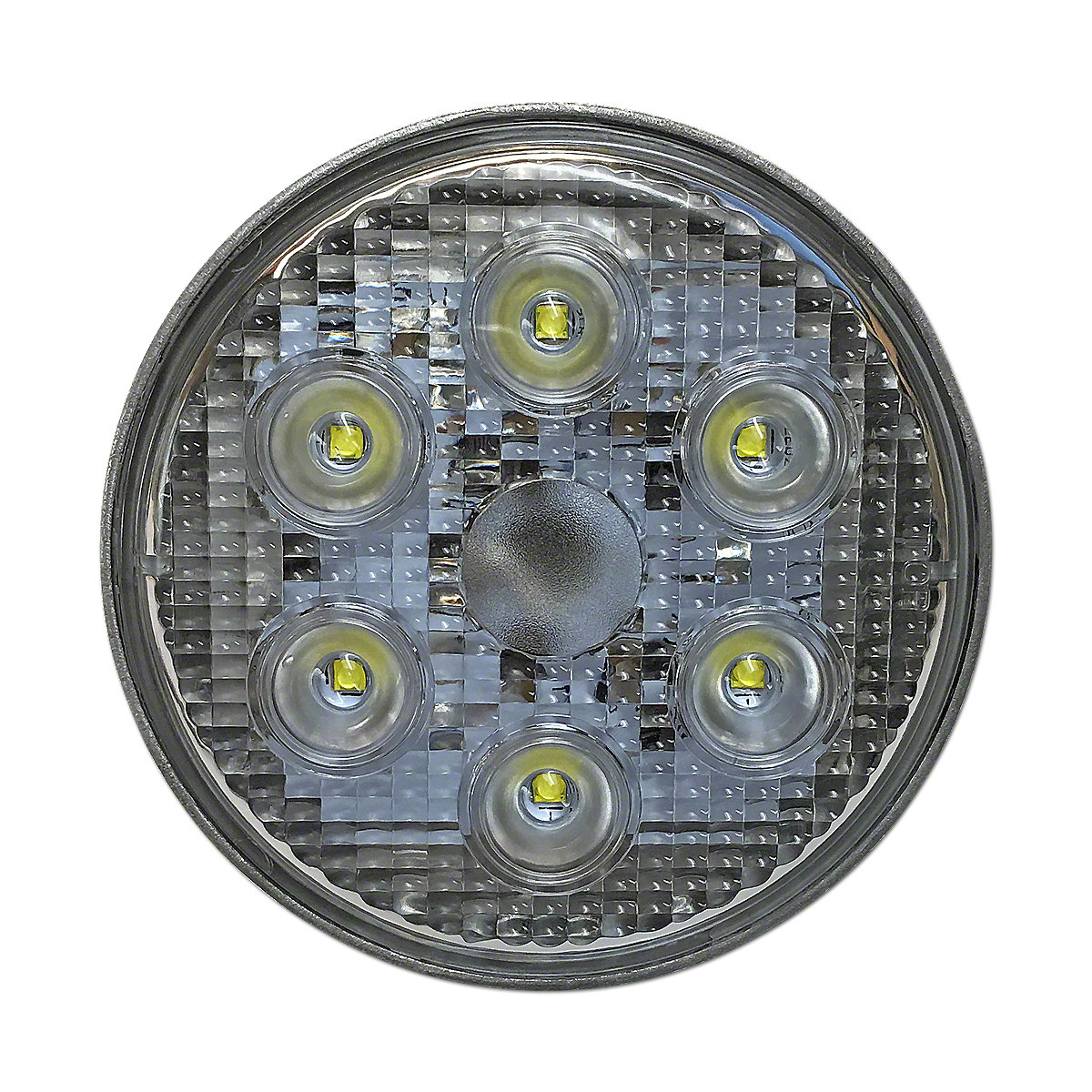 IHS3698LED Lamp w/ Flood Beam Pattern Works on Both 6 Volt and 12 Volt Systems