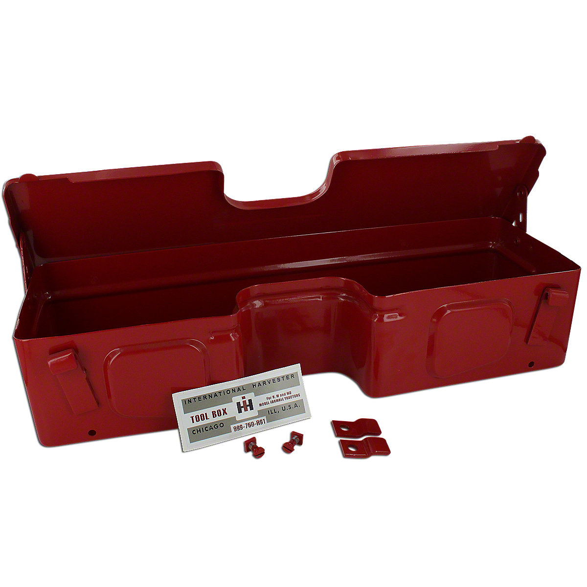 IHS374 Light Bar Mounted Toolbox For Farmall H And M