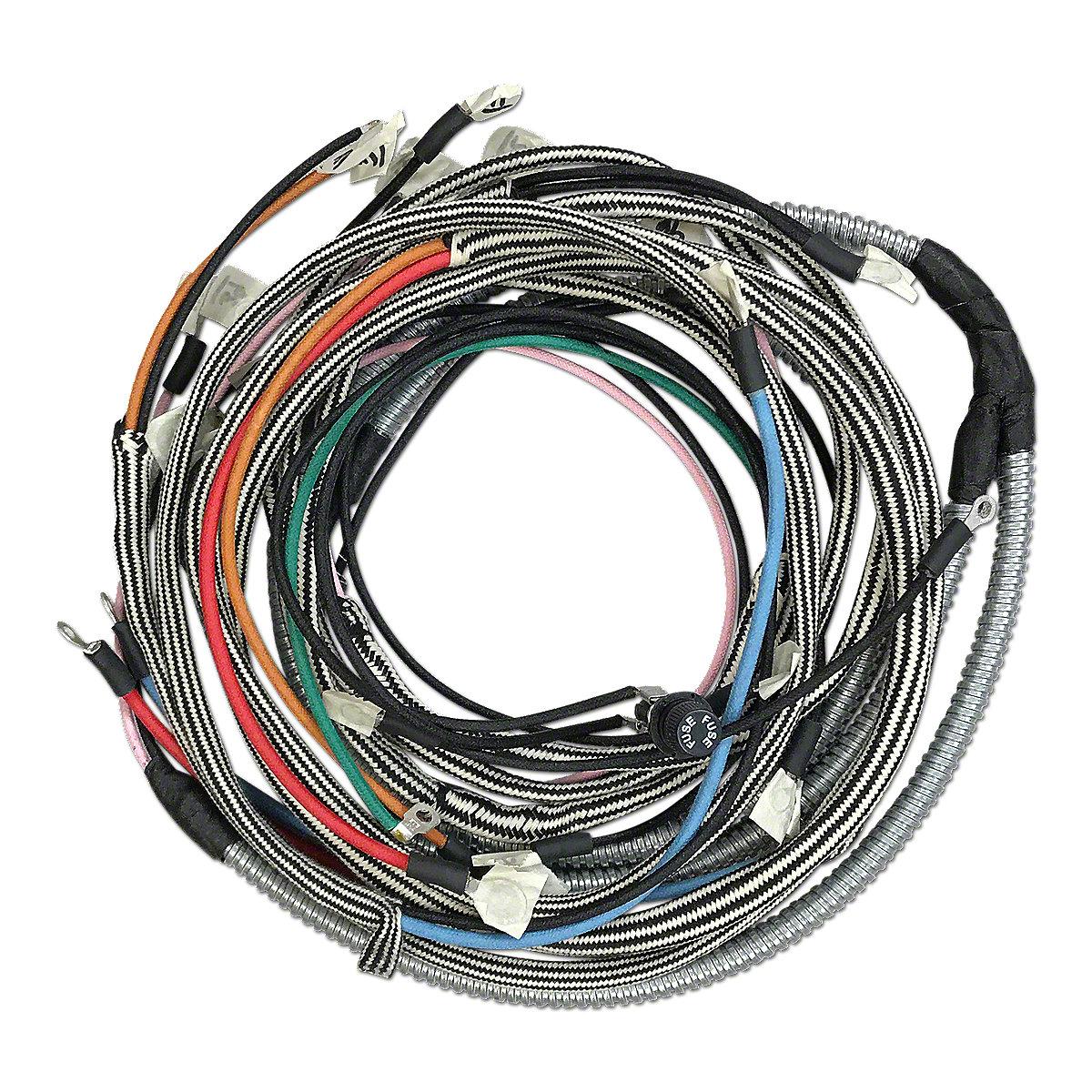 Eign17 4 Cyl Ih Distributorw Clips Farmall Super C Wiring Harness Restoration Quality