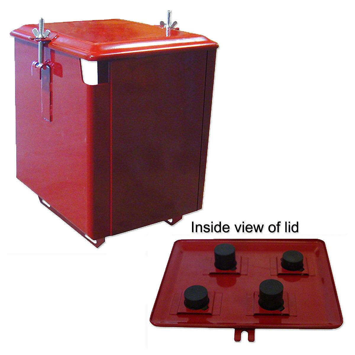 IHS5204-Piece Battery Box -- Fits Farmall C, Super C, Super A, 100, 130 -- Restoration Quality!