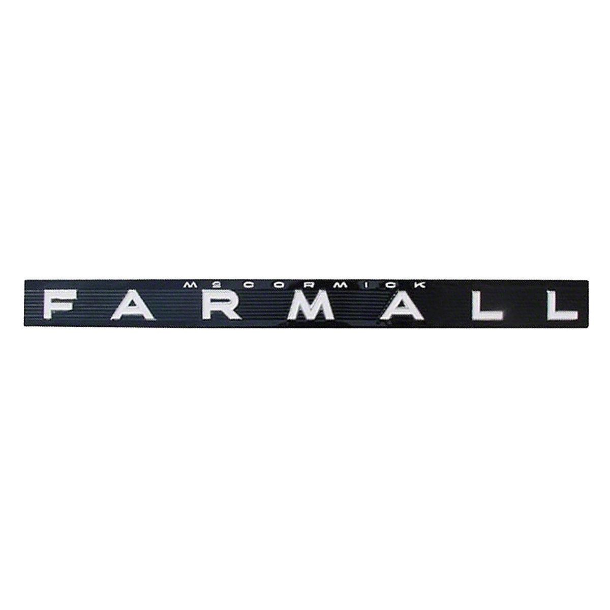 Rep118 Operators Manual Ih 656 International Wiring Diagram Farmall Side Emblem Fits 504 706 806 1206