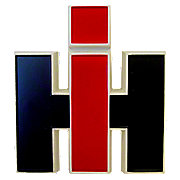IHS837 - Plastic IH Emblem (for front or for cab)