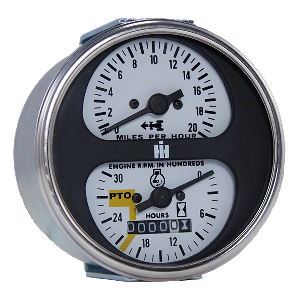 Ih Cluster Gauge Assembly 656 Diesel Fuel Farmall Wiring Harness Tachometer Fits 966 Others With Hydro Transmission