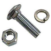 IHS957 - Front Wheel Weight Carriage Bolt,  Washer And Nut Kit