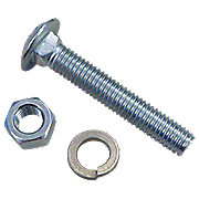 IHS959 - Rear Wheel  Weight Nut And Washer Carriage Bolt Kit (3 Pcs)