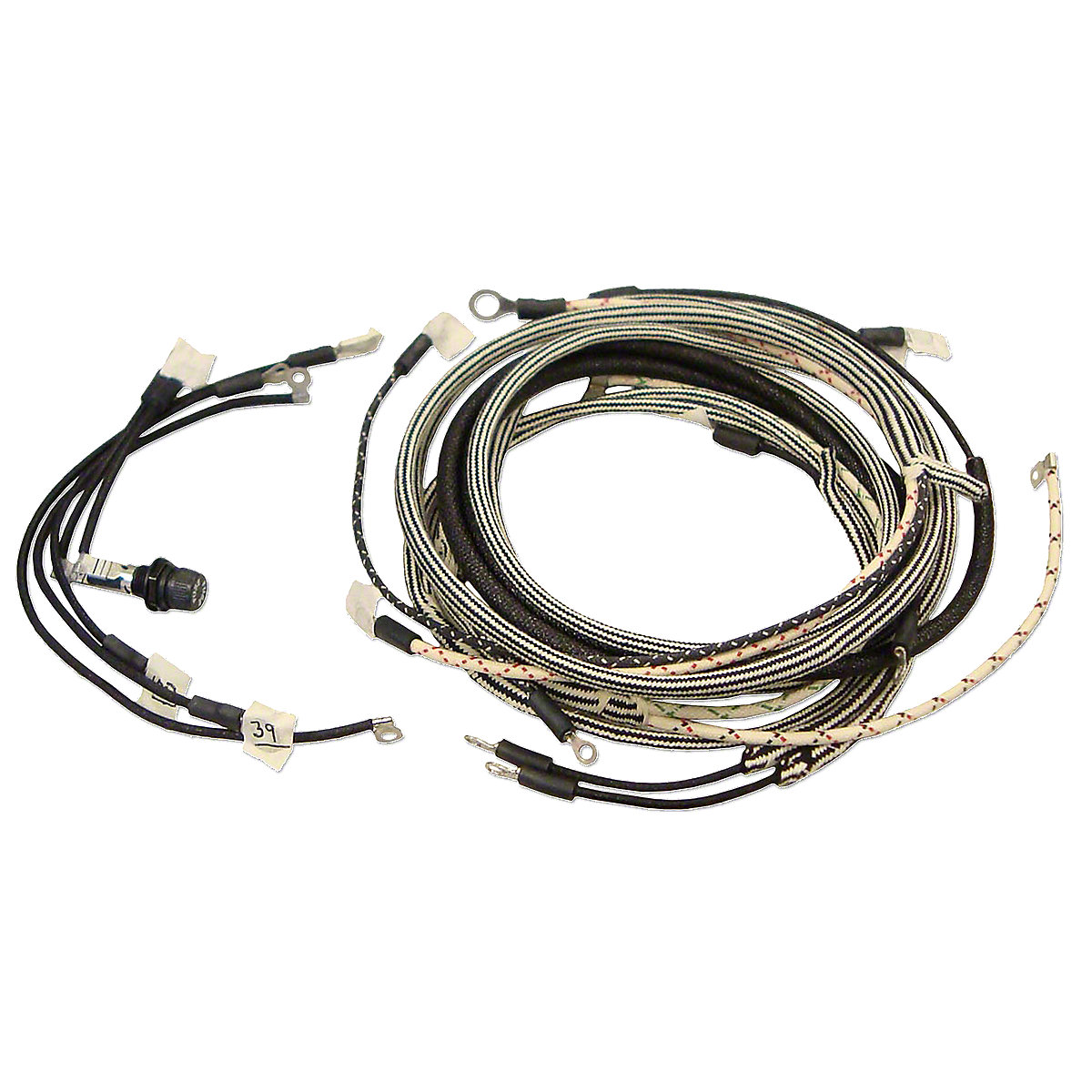 Ihs971 Wire Harness Kit Silver Wiring For Tractors Using 4 Terminal Voltage Regulator
