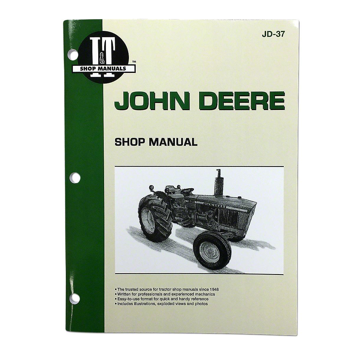 JD37I & T Shop Service Manual